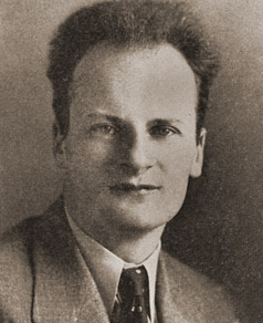 headshot of Hans Bethe in 1940